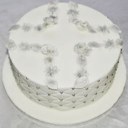 Pin Cushion Christmas Cake