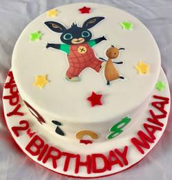 Bing 2nd Birthday Cake