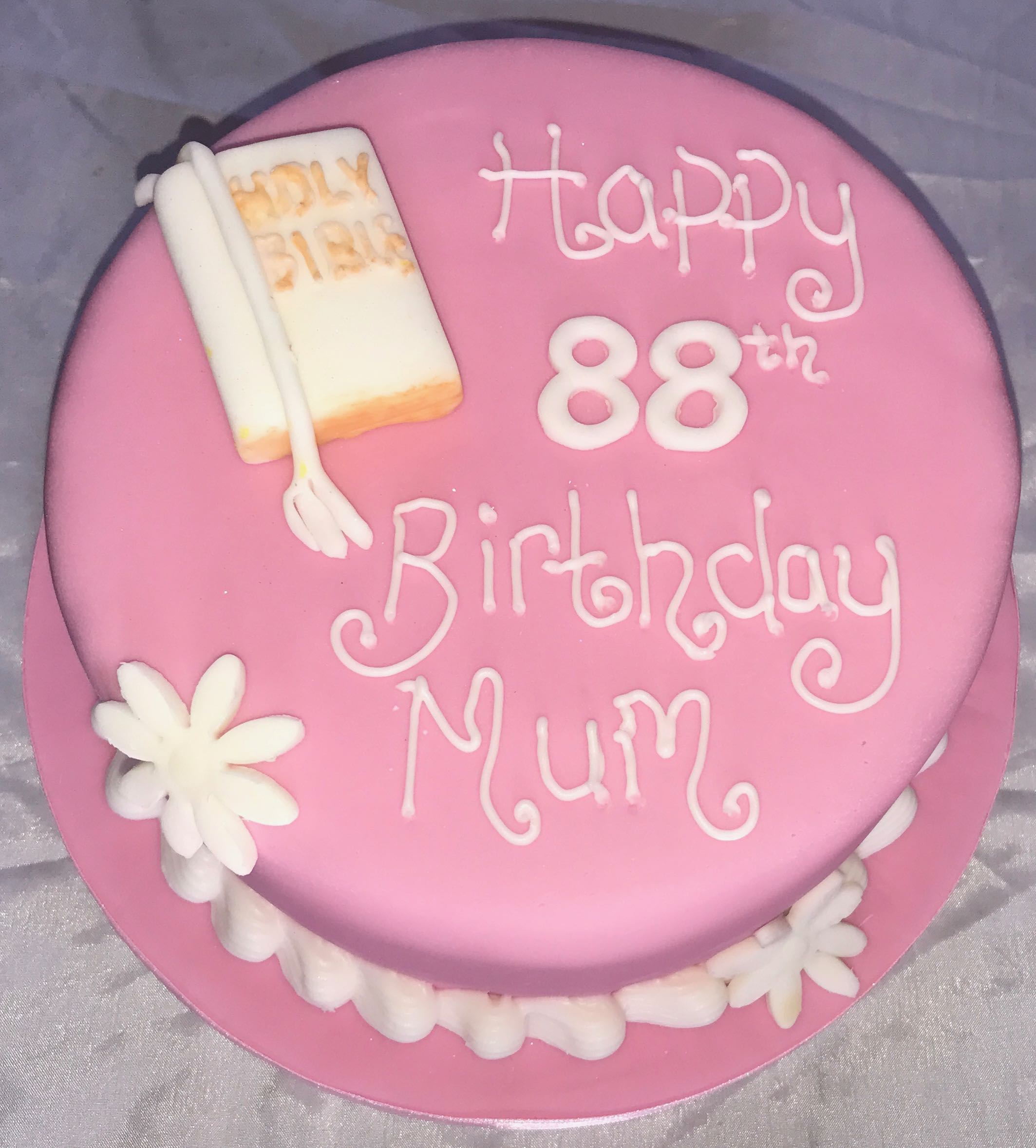 88th Birthday Cake