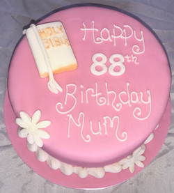 88th Birthday Cake