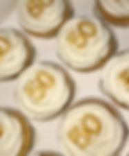 50th Birthday Cupcakes
