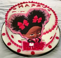 4th Birthday Baby Boss Cake