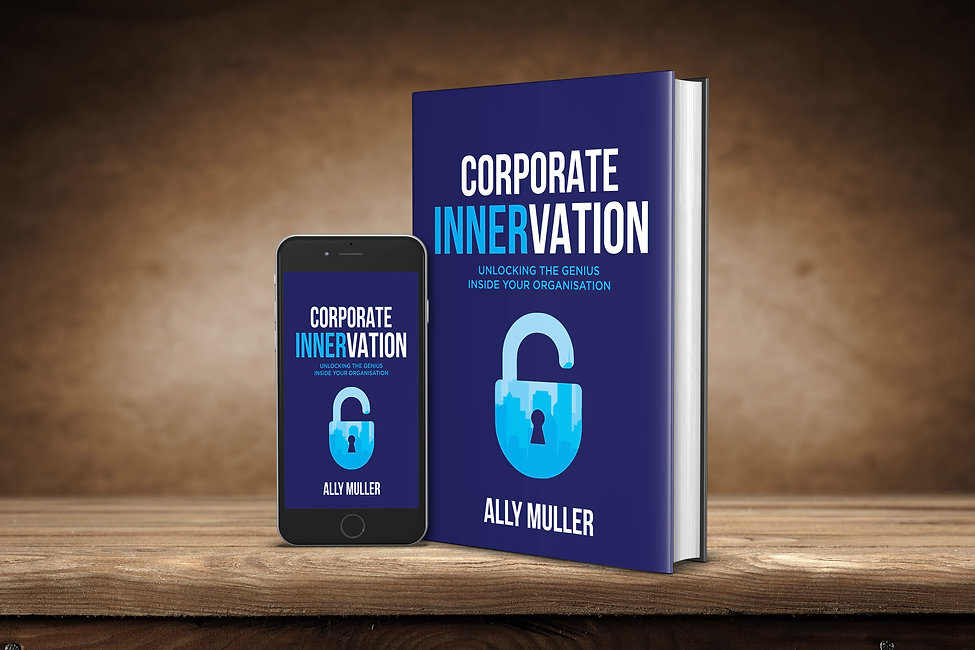 Corporate Innervation Book and iphone.jp