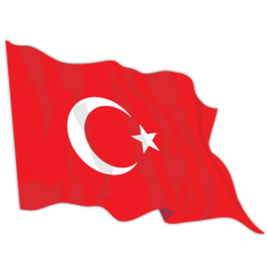 CFL13-1185-TURKEY-FLAG