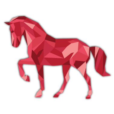 AN11-10080 TRIANGLE HORSE