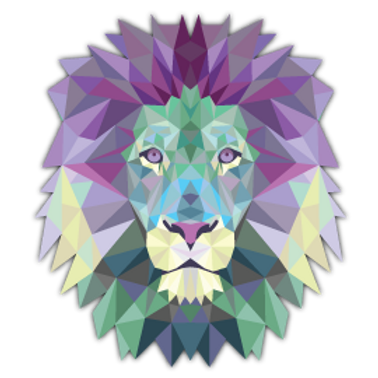 AN12-9585 TRIANGLE LION