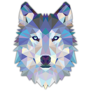 ANDG26-10080-TRIANGLE-WOLF