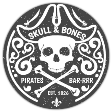 SKL29-9090-SKULL&BONES