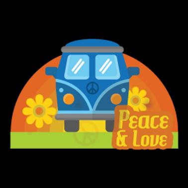 WWV2-11070-PEACE&LOVE