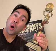 Russ Emanuel with Occupants Trophy.JPG