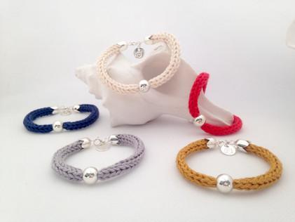 FILAMANT - Bijoux au crochet - Bracelet tricotin