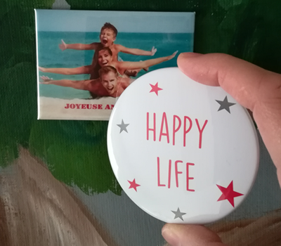 MAGNET YOUR LIFE Badge