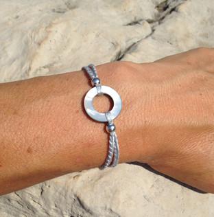 FILAMANT - Bijoux au crochet - Bracelet rond