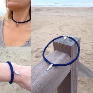 FILAMANT - Bijoux au crochet - bracelet poisson