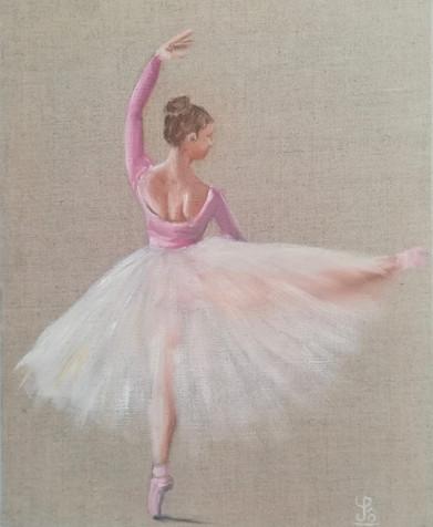 Peinture danse - Solène de la Touche