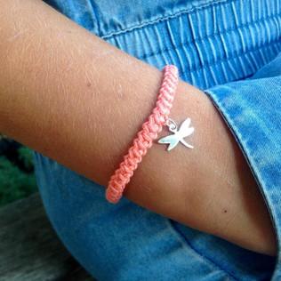 FILAMANT - Bijoux au crochet - bracelet libellule