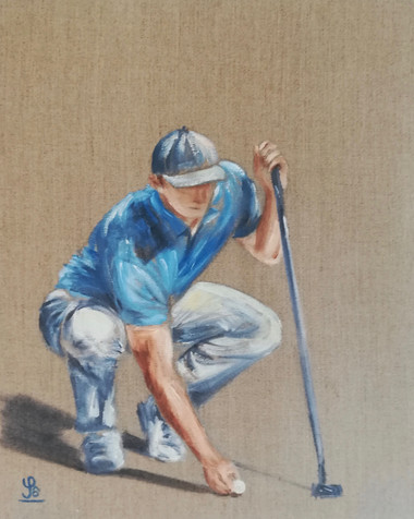 Peinture Golf - Solène de la Touche