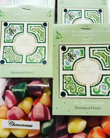 """Collection """"Jardin à la française"""" senteurs de france - bonbons"""