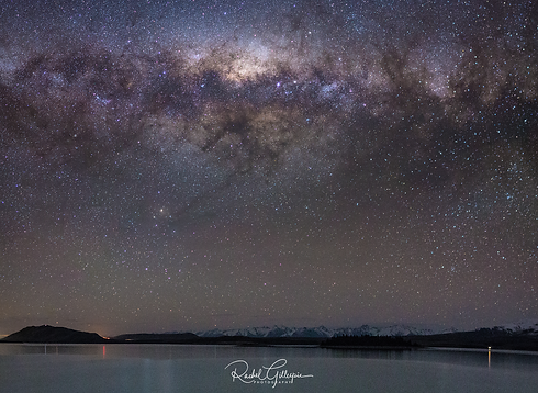Lake Tekapo Lillybank Starry Nights Pano