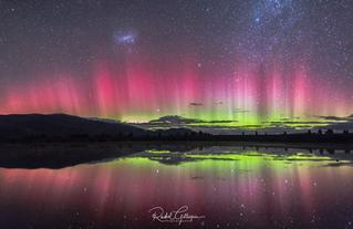 Aurora Australis no filter Lake Ruataniw