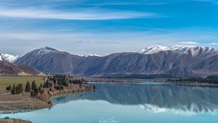 Lake Ruataniwha and Ben Ohau