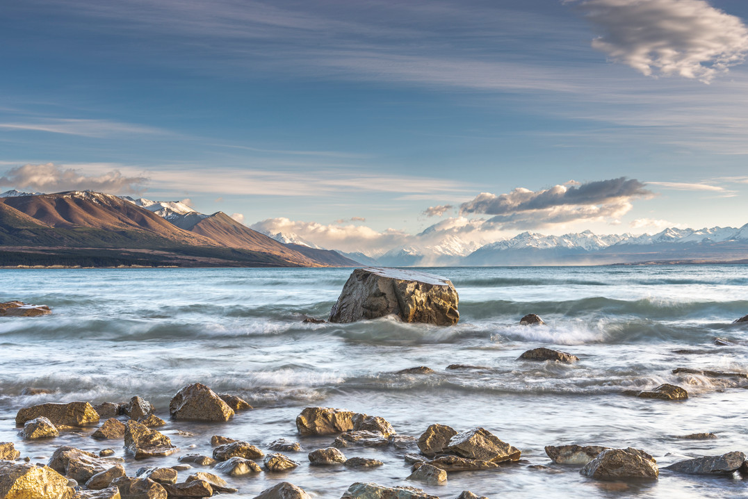 Lake Pukaki Kase Sunrise Workshop Sept 2