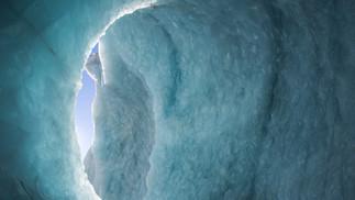 Tasman Glacier Ice Cave