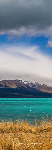Lake Pukaki Stormy Day