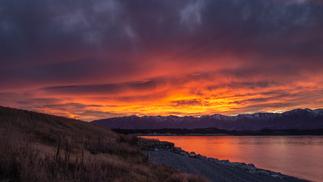 Lake Pukaki Sunset
