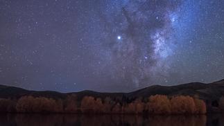 Twizel Ponds Milky Way Rising