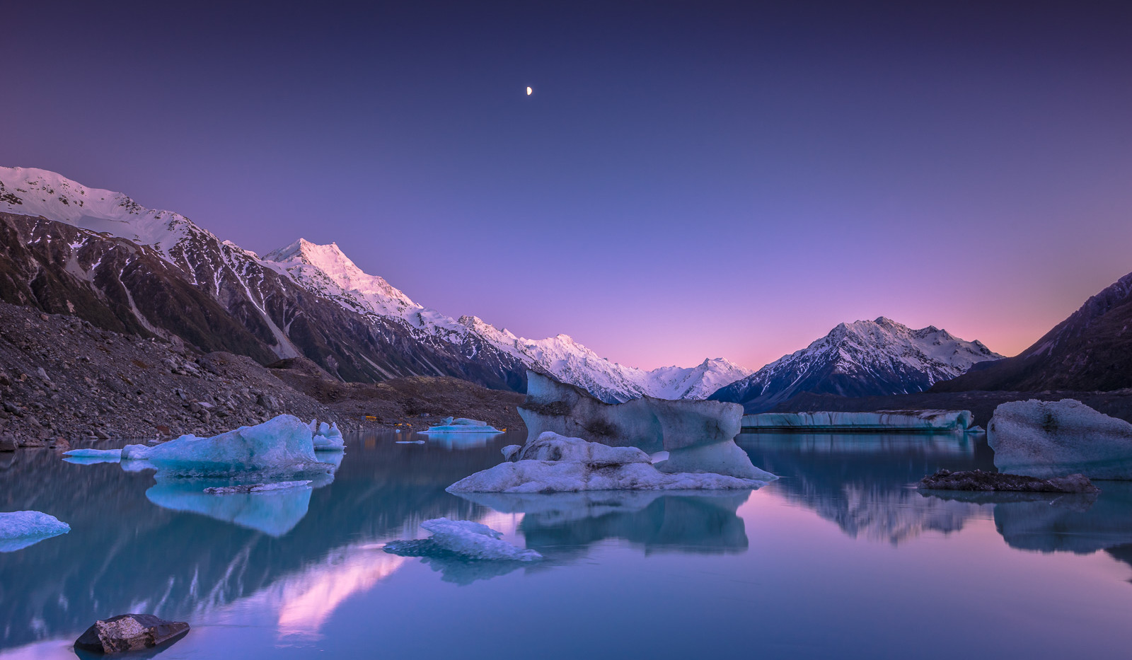 Tasman Lake Dawn