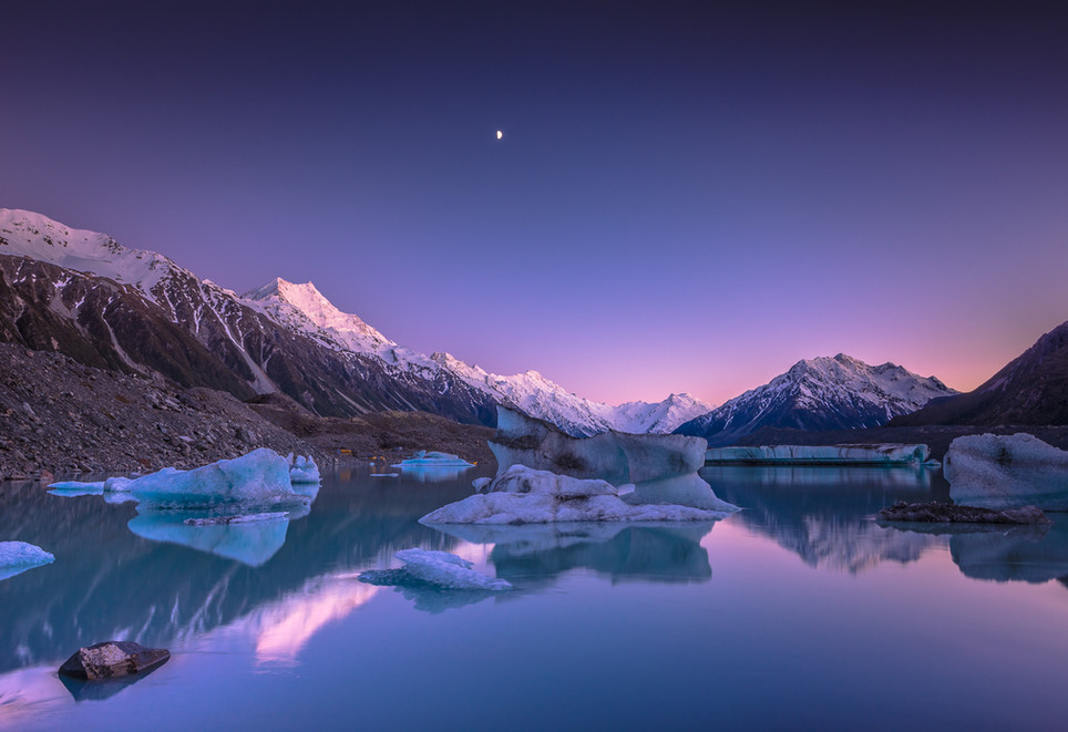 Tasman Lake Dawn