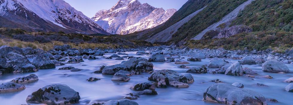 Mount Cook Hooker River