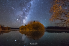 Milky Way Night of Reflection with Frien
