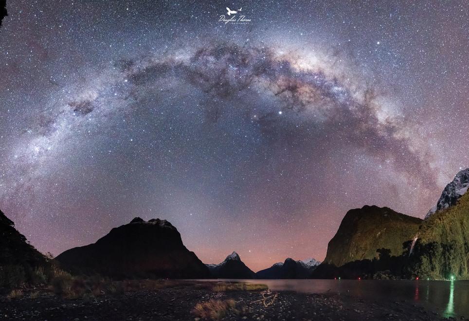 Milky Way Milford Sound