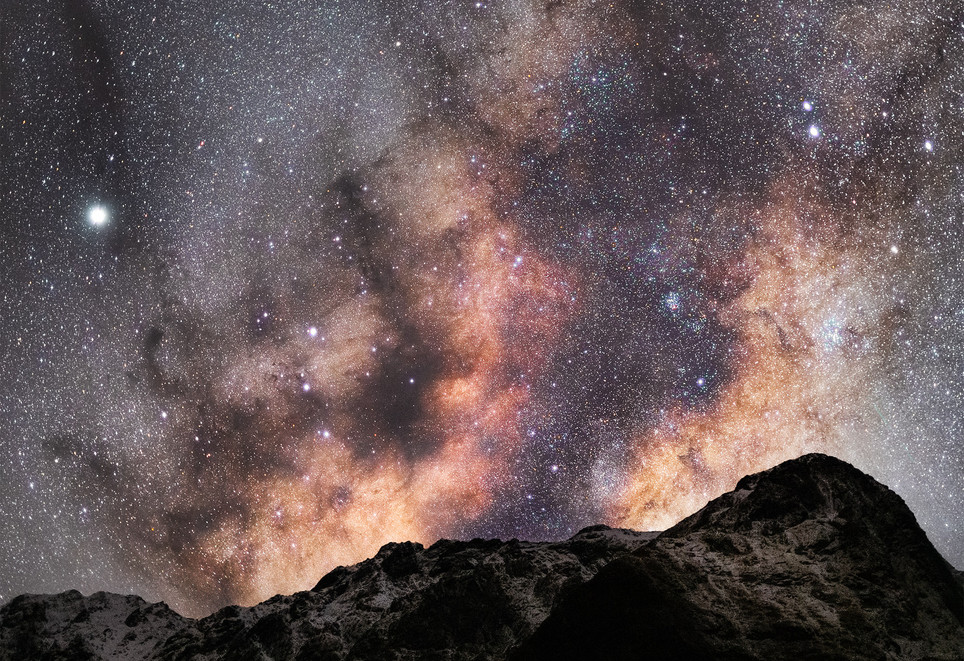 Milky Way Core Milford