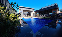 Pool and rear Landscaping