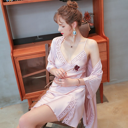 nightgown two-piece suit