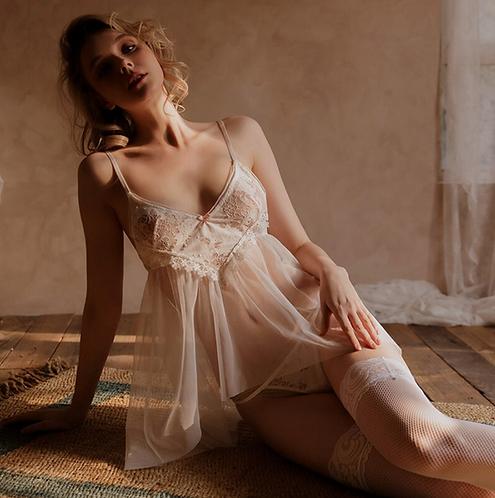 Nightdress Panty Lingerie Set