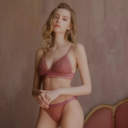 female comfortable no steel ring sexy lace