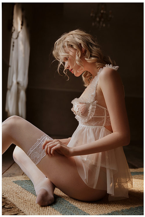 Embroidery Nightgowns Lace