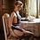 Thumbnail: White Black Backless Halter Erotic Lingerie Ladies