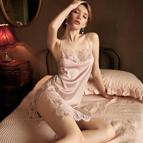 Set New Sexy Nightwear Satin lace