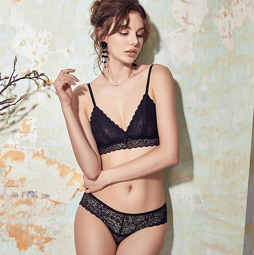 Set Sexy Lace Hollow Out