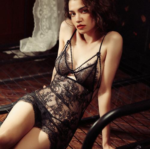 copy of Sexy Split Nightdress Lady Lace