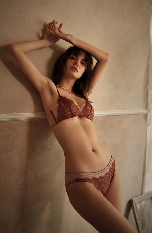 Push up underwear lace bra set comfortable