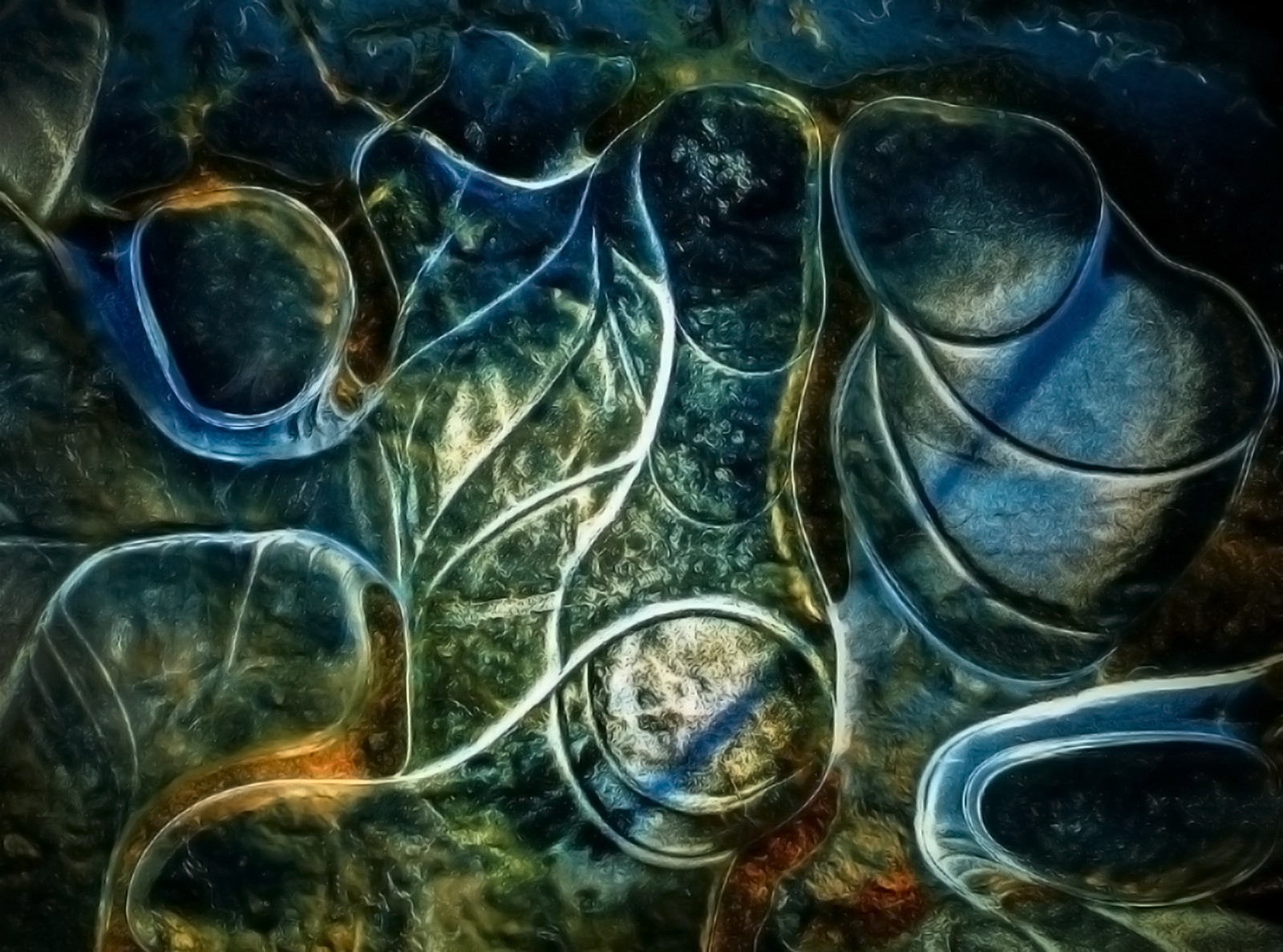 'Icy Puddle' by Helen Honeyman (13 marks)