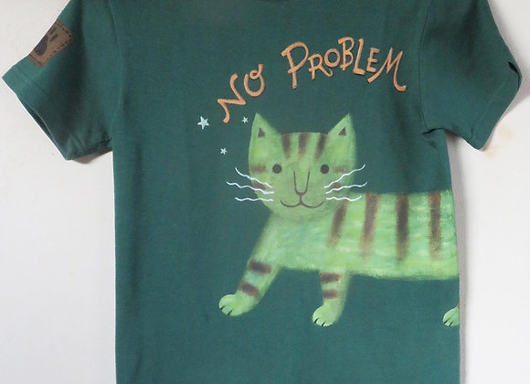 手描きTシャツ【NO  PROBLEM】