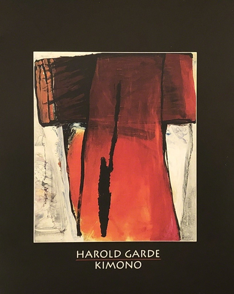 Harold Garde: In the Shape of a Kimono
