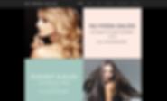 Nu Moda Salon's new website